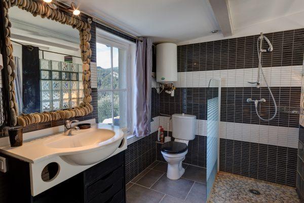 Chambre calisson salle de bain