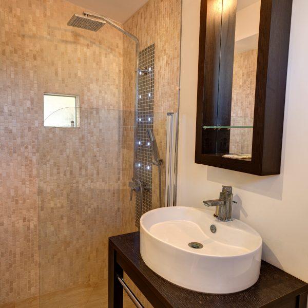 Chambre musique salle de bain