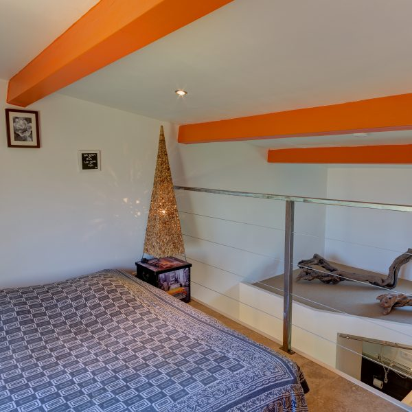 Chambre orange mezzanine