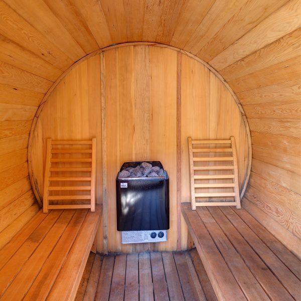 Le sauna intérieur